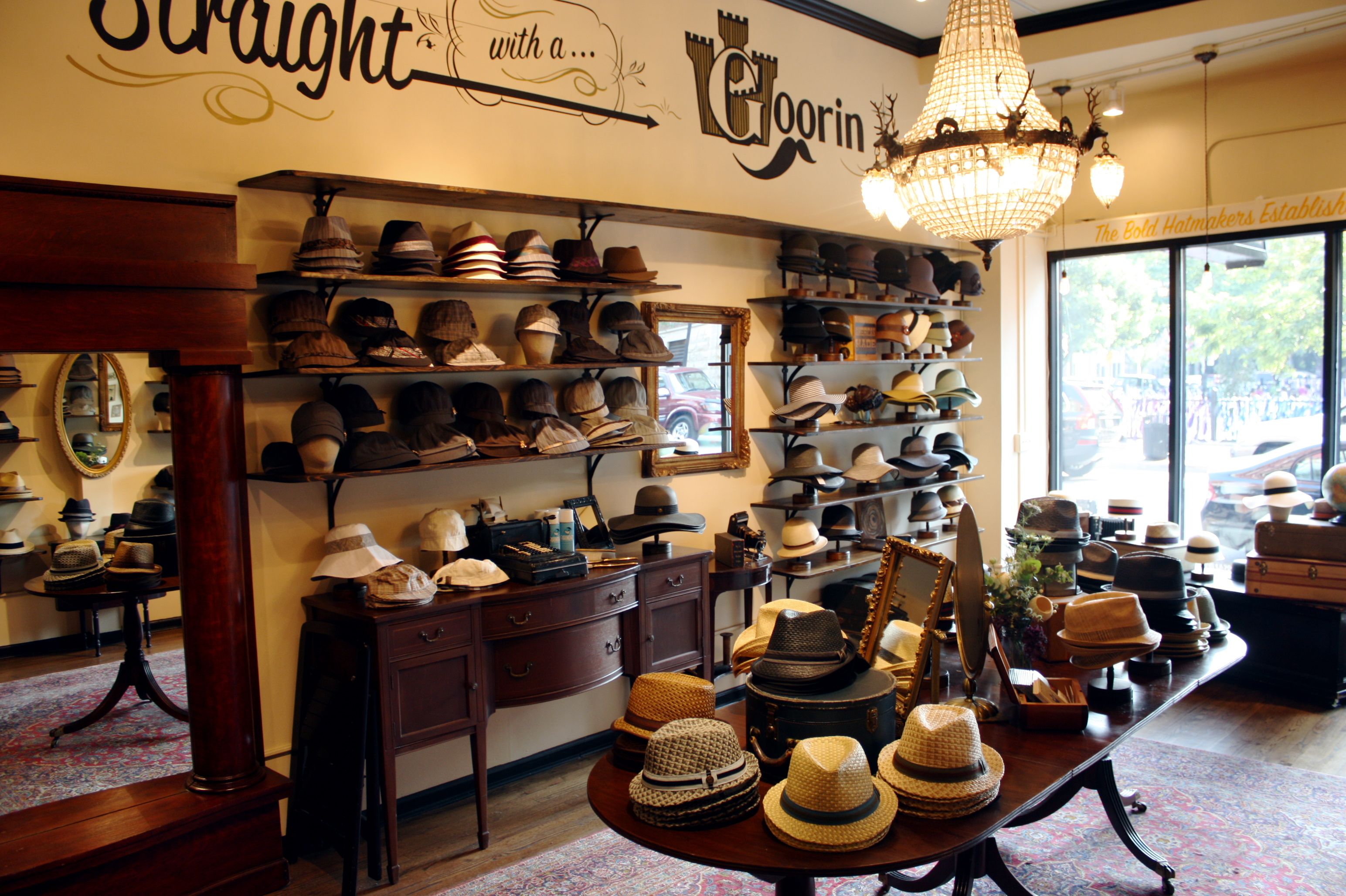 ff46835badb Chicago s hidden gems  Goorin Brothers hat stores