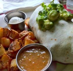 Pick Me Up - breakfast burrito