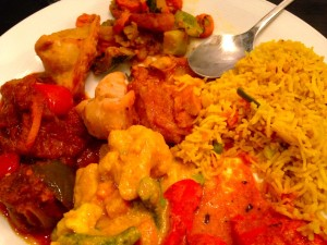 India House buffet