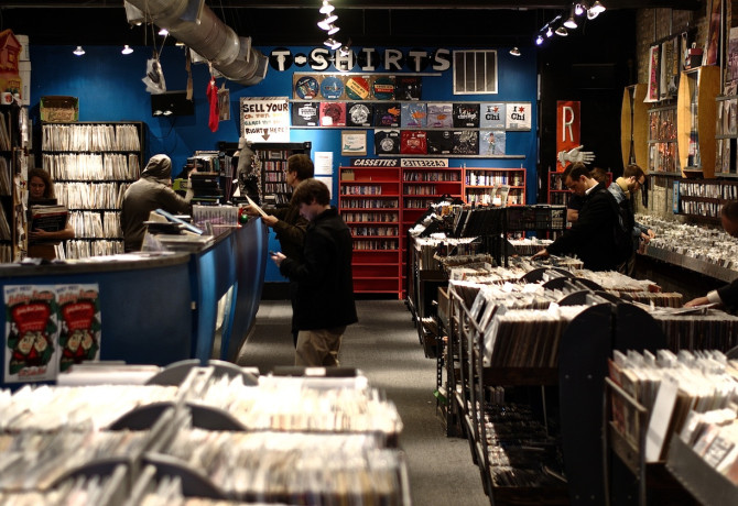 Reckless Records web