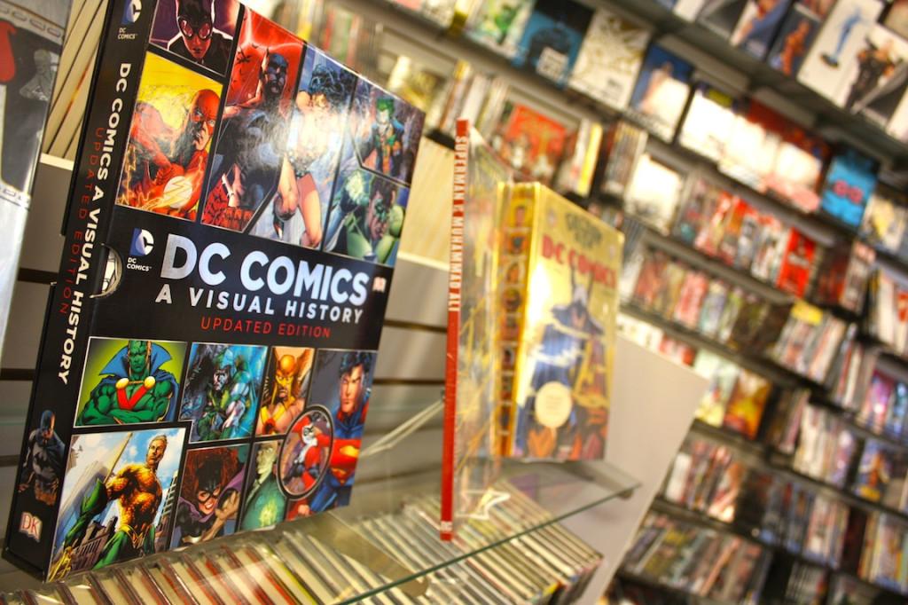 DC Comics - horizontal
