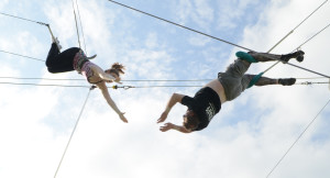 Trapeze team