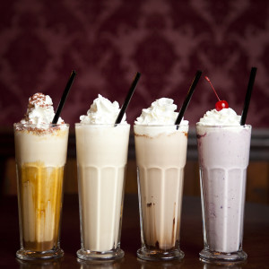 25 Degrees - spiked shakes