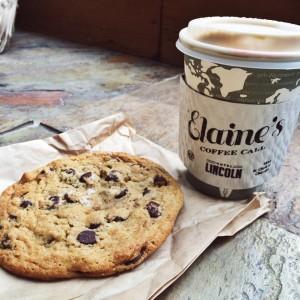 Elaine's Coffee Call - cookie