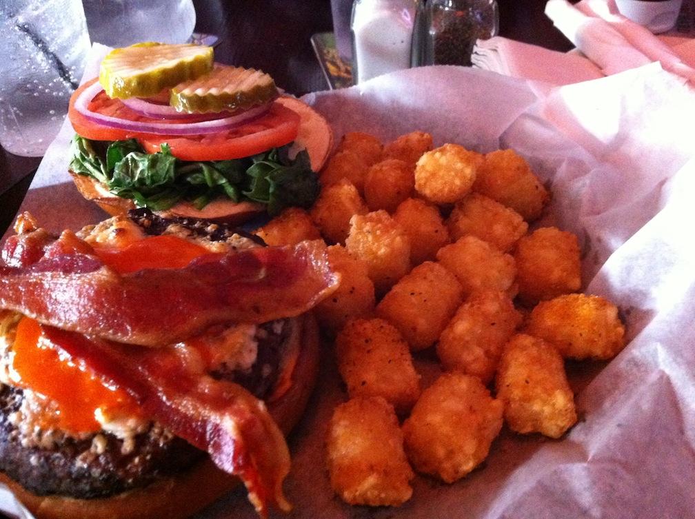 Rocks burger