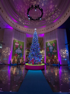 Christmas Around the World and Holidays of Light exhibit @ the Museum of Science and Industry, Chicago