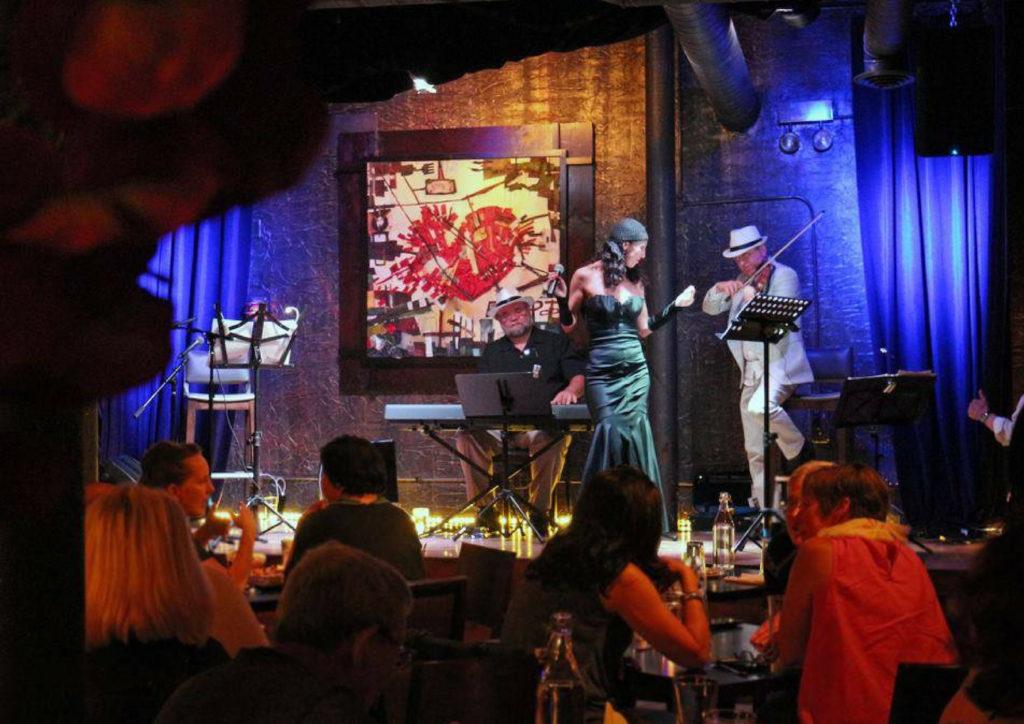 Argentina strip club jazz